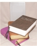 LARGE 2013 NWT BIBLE (BOUND WITH YOUR OLD COVER)