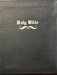 DELUXE STYLE SLIP-ON LARGE BIBLE COVER OLD ENGLISH