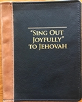 Large Song Book Slip-on Cover Leather