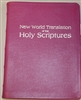 Deluxe Large Bible and Maps  Fuschia with Speckled edge- Imperfections