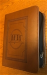DELUXE Leather Slip-On Style Regular NWT BIBLE Book Cover