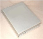CLEAR VINYL COVER LARGE STUDY BIBLE (SEWN)