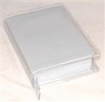 CLEAR VINYL COVER REGULAR BIBLE (SEWN)
