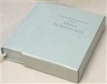 SLIP CASE POLY GREY POCKET BIBLE (COV-BOX5 Pocket)