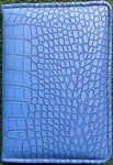 Vinyl-pattern Padded Convention Notebook 1