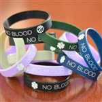 No Blood Wristbands SALE $1.5 EACH